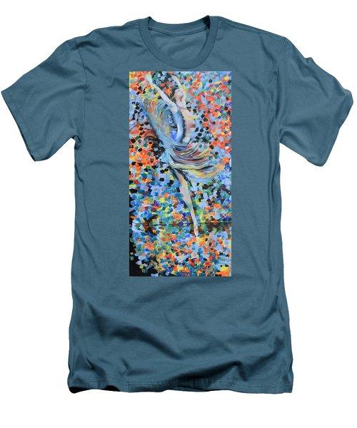 My Ballerina Men's T-Shirt (Slim Fit) by Gary Smith