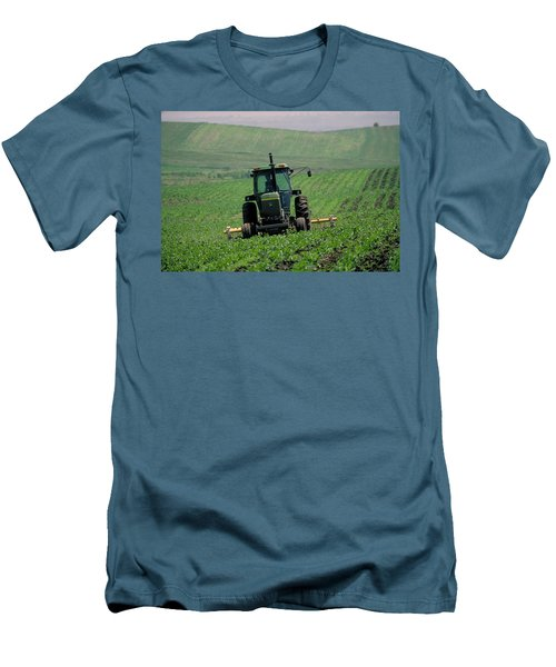 My Big Green Tractor Men's T-Shirt (Athletic Fit)