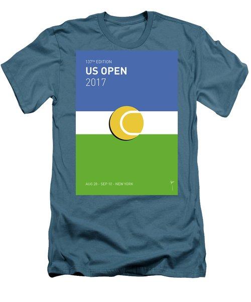 My Grand Slam 04 Us Open 2017 Minimal Poster Men's T-Shirt (Athletic Fit)