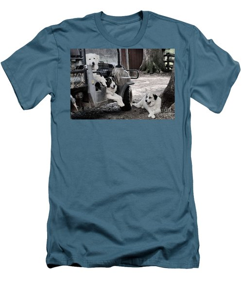 My Helpers Men's T-Shirt (Athletic Fit)