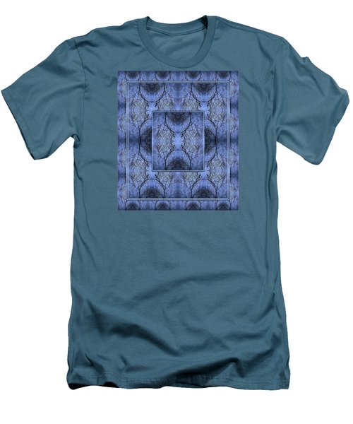 Men's T-Shirt (Slim Fit) featuring the photograph Mystery Blue by Joy Nichols