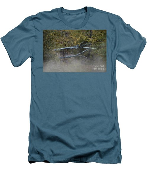 Men's T-Shirt (Slim Fit) featuring the photograph Mystery In The Fall by Skip Willits