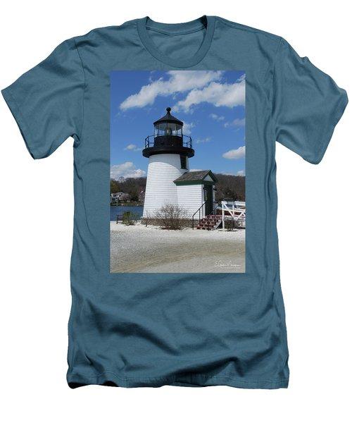 Mystic Lighthouse Men's T-Shirt (Athletic Fit)
