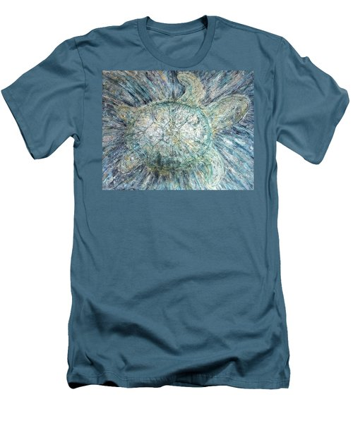 Mystical Sea Turtle Men's T-Shirt (Athletic Fit)