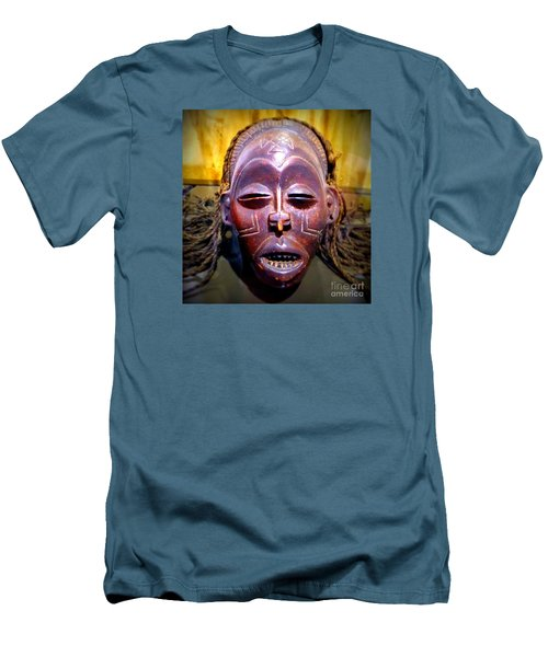Native Mask Men's T-Shirt (Athletic Fit)