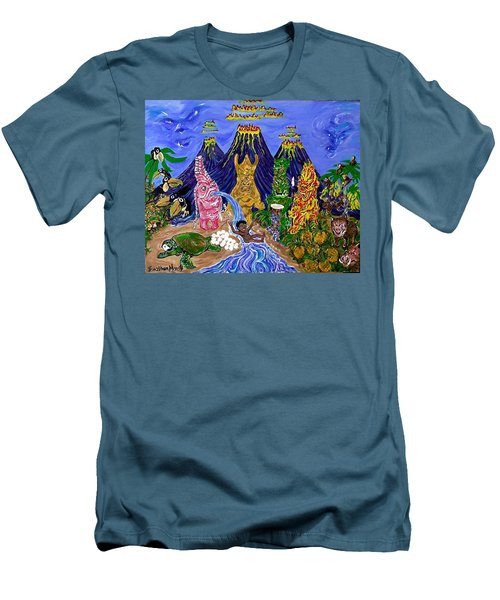 Nativi-tiki Men's T-Shirt (Athletic Fit)