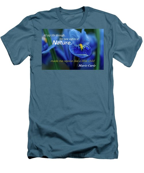 Nature208 Men's T-Shirt (Slim Fit) by David Norman