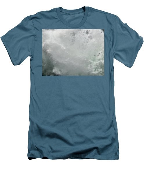 Men's T-Shirt (Athletic Fit) featuring the photograph Nature's Power by Peggy Hughes
