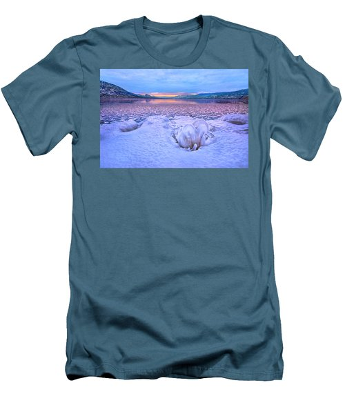Men's T-Shirt (Slim Fit) featuring the photograph Nature's Sculpture by John Poon