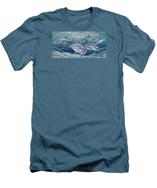 Nereus' Guardians Men's T-Shirt (Slim Fit) by William Love