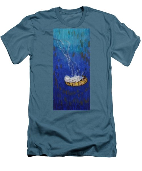 Nettle Jellyfish Men's T-Shirt (Athletic Fit)