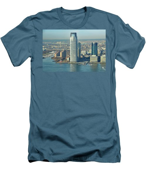New Jersey Skyline Men's T-Shirt (Athletic Fit)