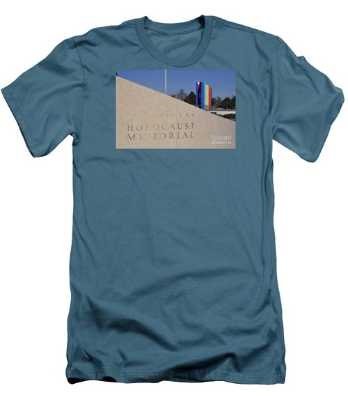 New Orleans Holocaust Memorial Men's T-Shirt (Athletic Fit)