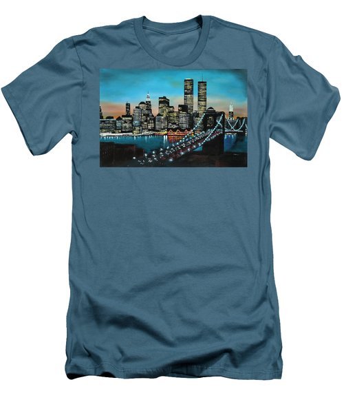 New York 910 Men's T-Shirt (Athletic Fit)
