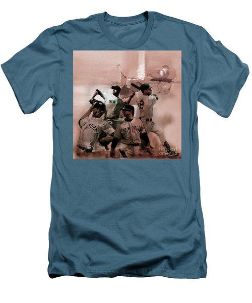New York Baseball  Men's T-Shirt (Slim Fit) by Gull G