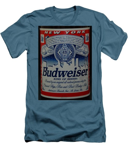 New York Bud Men's T-Shirt (Slim Fit) by Rob Hans