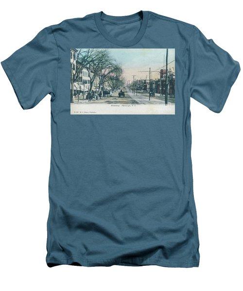 Newburgh Broadway - 04 Men's T-Shirt (Athletic Fit)