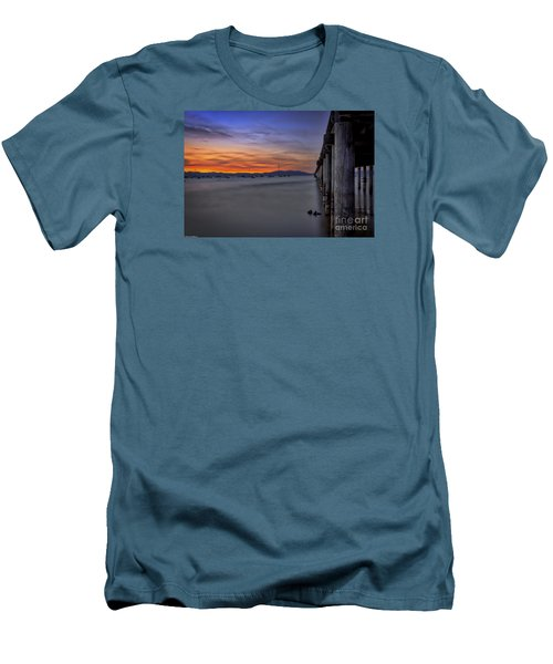 Men's T-Shirt (Slim Fit) featuring the photograph Next To Nothing by Mitch Shindelbower