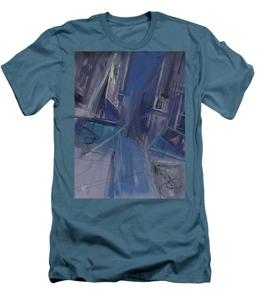 Night City Men's T-Shirt (Athletic Fit)