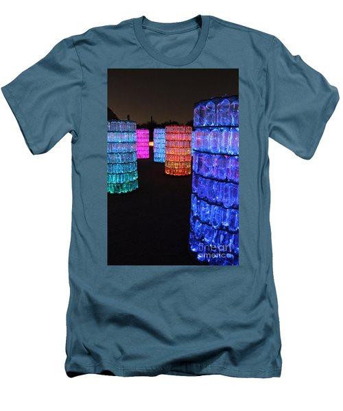 Night Color Men's T-Shirt (Slim Fit) by Natalie Ortiz