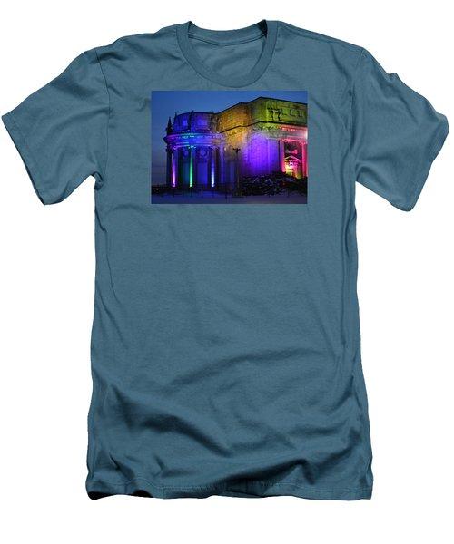 Night Lights Niagara Men's T-Shirt (Athletic Fit)
