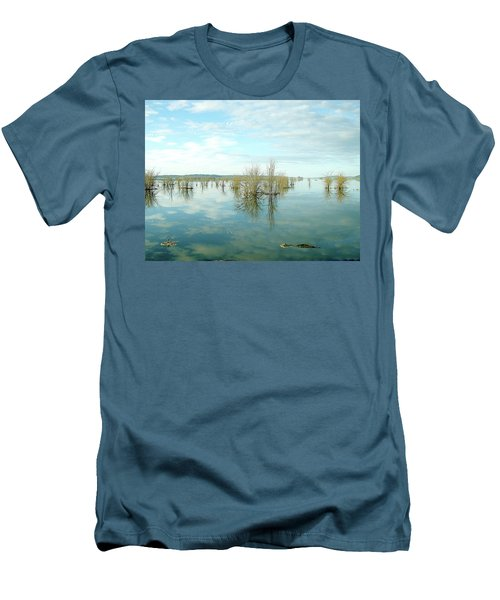 Nisqually High Tide Men's T-Shirt (Athletic Fit)