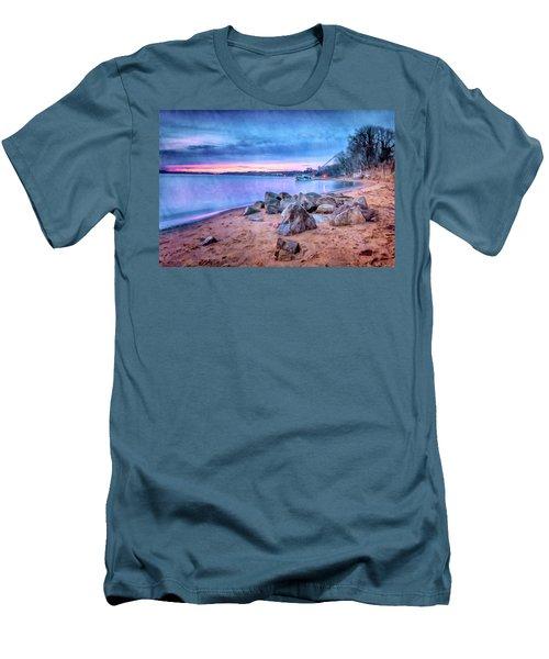 No Escape Men's T-Shirt (Slim Fit) by Edward Kreis