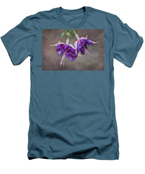 Purple Fuchsia Men's T-Shirt (Athletic Fit)