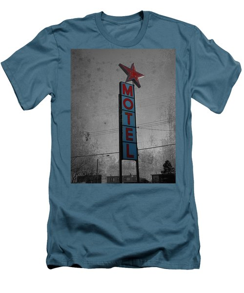 No Tell Motel Men's T-Shirt (Slim Fit) by Jerry Cordeiro