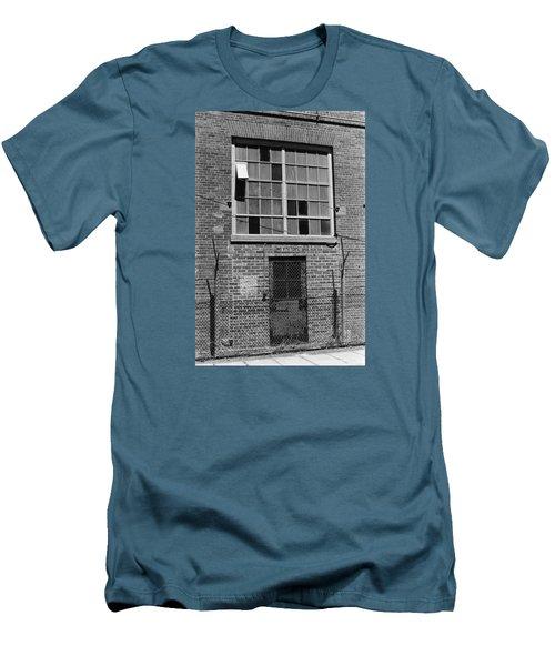 No Visitors Men's T-Shirt (Athletic Fit)