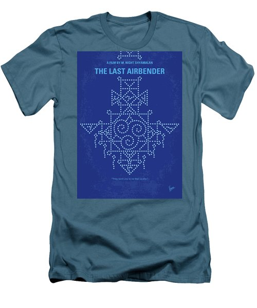 Men's T-Shirt (Slim Fit) featuring the digital art No764 My The Last Airbender Minimal Movie Poster by Chungkong Art