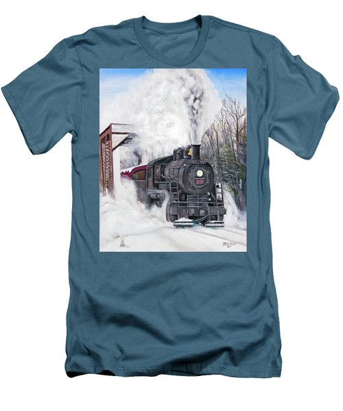 Northbound At 35 Below Men's T-Shirt (Athletic Fit)