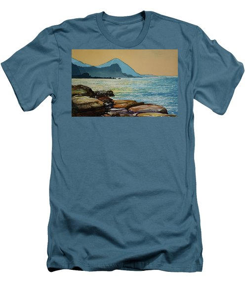 Northeast Coast Of Taiwan Men's T-Shirt (Athletic Fit)