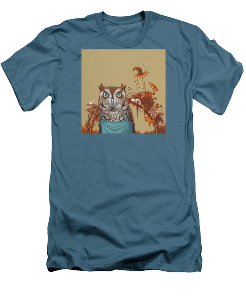 Northern Screech Owl Men's T-Shirt (Athletic Fit)