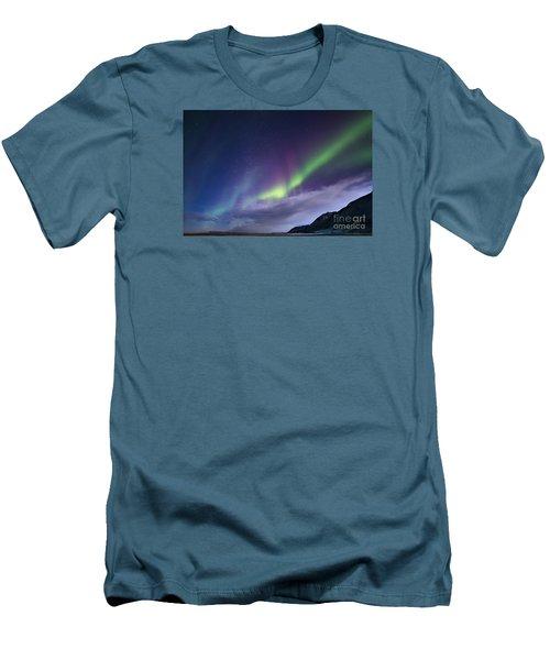 Northetn Lights 6 Men's T-Shirt (Slim Fit) by Mariusz Czajkowski