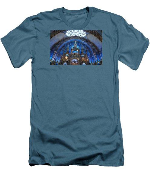 Notre Dame Basilica Men's T-Shirt (Slim Fit) by John Schneider