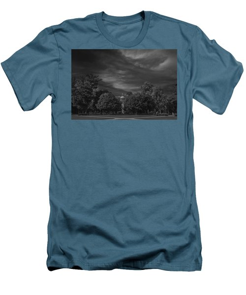 Men's T-Shirt (Slim Fit) featuring the photograph Notre Dame University 6a by David Haskett