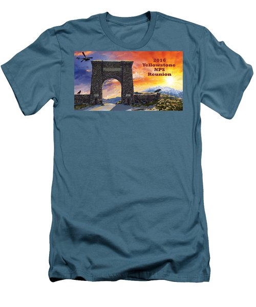 Nps Reunion Men's T-Shirt (Athletic Fit)