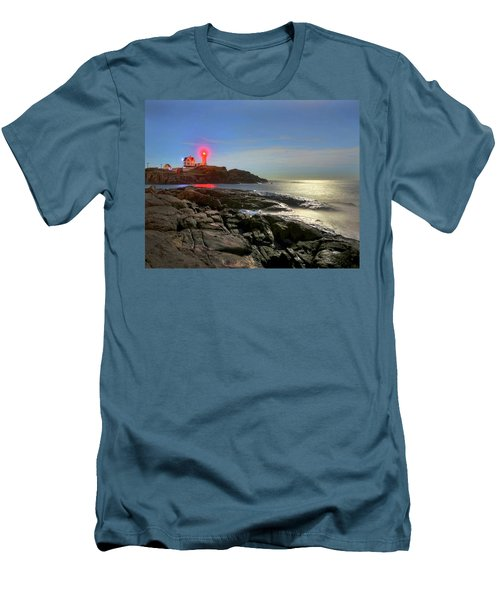 Nubble Light 457 Men's T-Shirt (Athletic Fit)