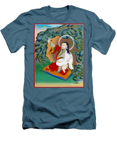 Nubchen Sangye Yeshe Men's T-Shirt (Slim Fit) by Sergey Noskov