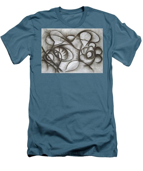 Nucleus Of Time Men's T-Shirt (Athletic Fit)