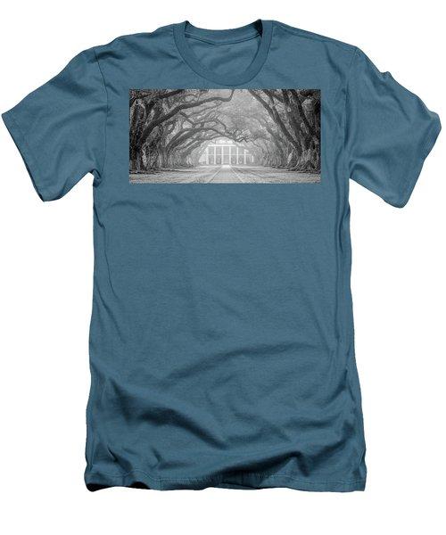 Oak Alley Fog Men's T-Shirt (Athletic Fit)