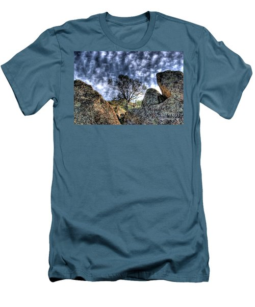 Men's T-Shirt (Slim Fit) featuring the photograph Oak Tree by Jim and Emily Bush