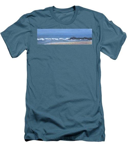 Ocean Meets Jetty Men's T-Shirt (Athletic Fit)