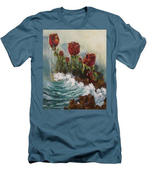 Ocean Rose Men's T-Shirt (Athletic Fit)