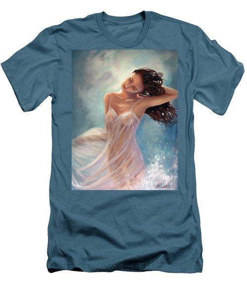Ocean Serenade Men's T-Shirt (Slim Fit) by Michael Rock