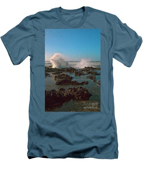 Ocean Spray Men's T-Shirt (Slim Fit) by Billie-Jo Miller