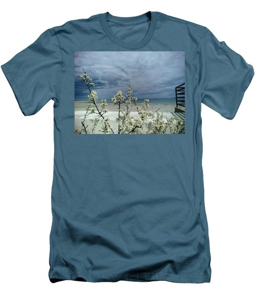 Ocean Spring Men's T-Shirt (Athletic Fit)