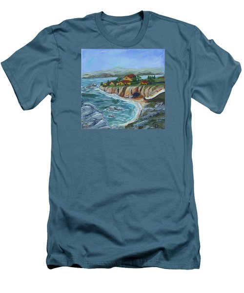 Ocean View Men's T-Shirt (Slim Fit)