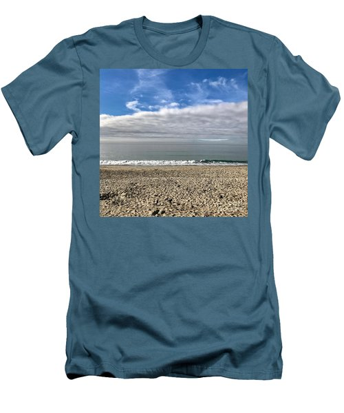 Men's T-Shirt (Slim Fit) featuring the photograph Ocean's Edge by Kim Nelson